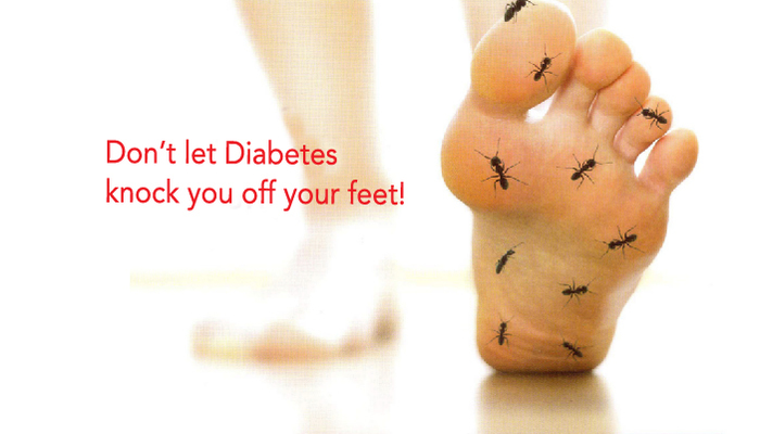 Diabetes Foot Care. Love your Feet!