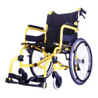 """SOMA 215 (SM-250.5) Wheelchair with 14""""/20"""" Rear Wheel & 18"""" Seat Width"""